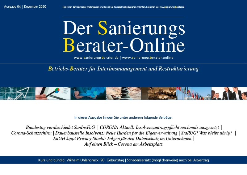 Der Sanierungs Berater-Online