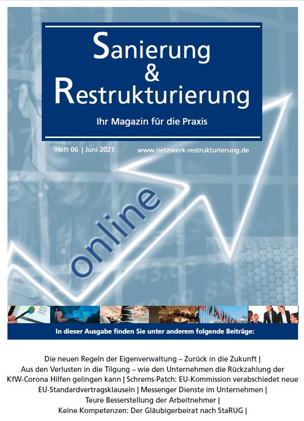 Sanierung und Restrukturierung Online No. 6